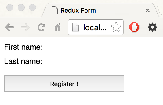 Writing Forms in React and Redux - Sean Saranga AmarasingheSean ...